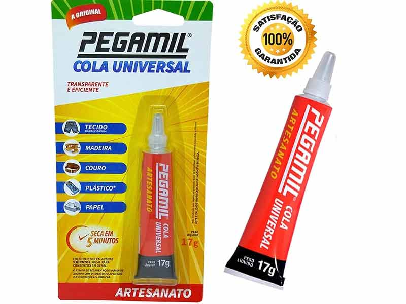 Cola Universal Pegamil Artesanato