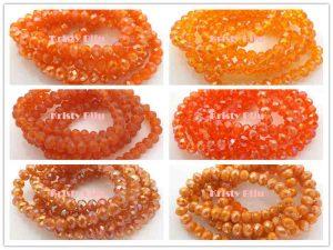 Pulseira-Cristal-Elástico-8mm-Quadrado-Laranja-Varias-Cores-300x225