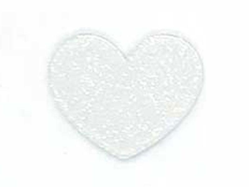 Apliques Acrilico Coração Com Brilho Para Laços e Tiaras (6)