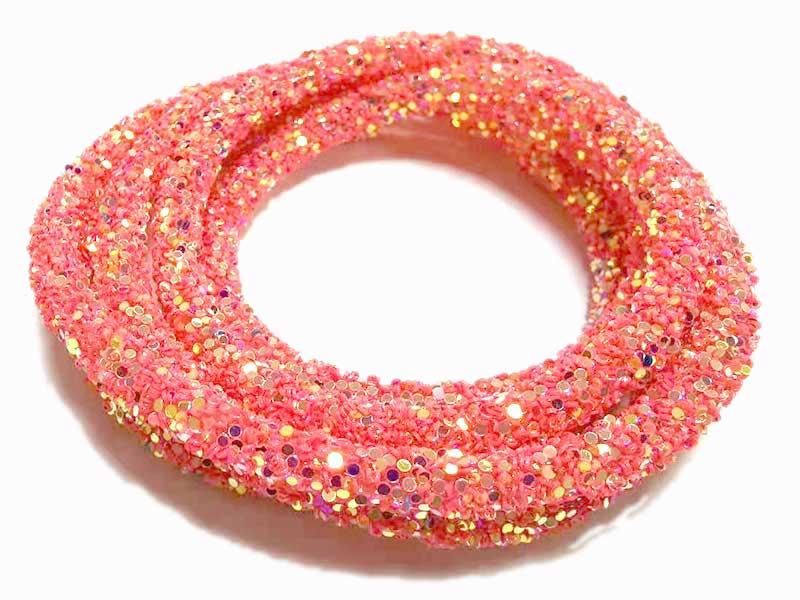 Tubo Strass Glitter Para Tiara Laço Brinco