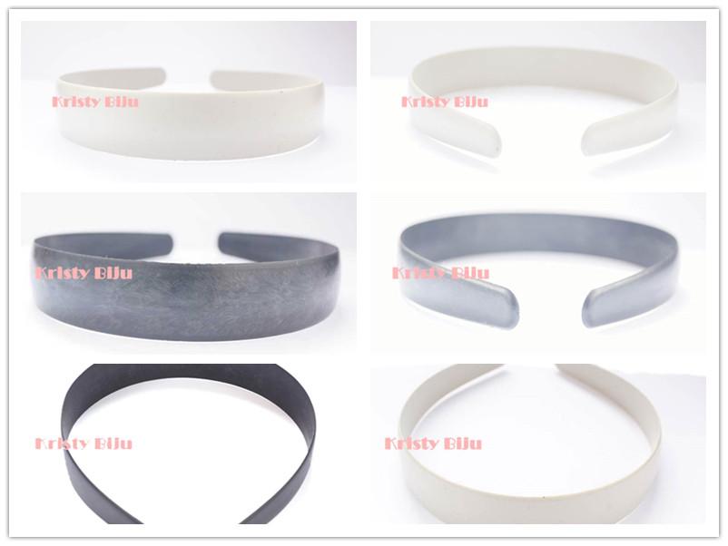 Tiara Arco Em Plástico 25mm Para Montagem Encapar Forrar